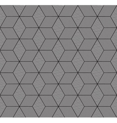 Monochrome geometric seamless pattern vector
