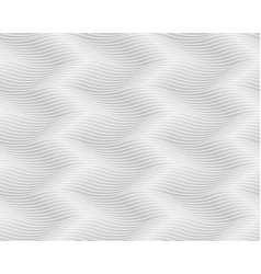 seamless light gray pattern wavy endless texture vector image