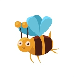 Bee Mid-air Icon vector image
