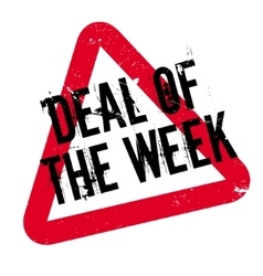 Deal Of The Week rubber stamp vector image