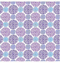 ultraviolet dots seamless pattern repeating vector image