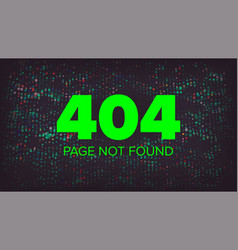 404 error error 404 page not found vector