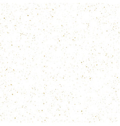 Abstract shiny golden textured dust spots vector