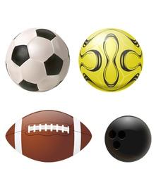 Balls set vector