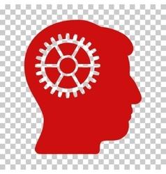 Intellect Cog Icon vector