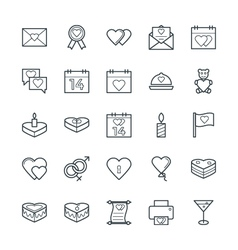 Love and romance cool icons 1 vector