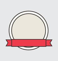 Ribbon design vector