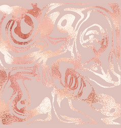 rose gold rose marble luxury texture for sales vector image