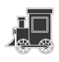 toy train icon vector image