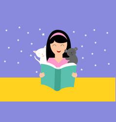 world book day logo vector image