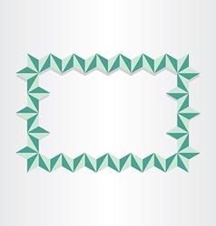 celebration frame decorative abstract design vector image vector image
