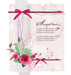 background for Valentine's day vector image vector image