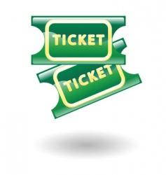 tickets illustration vector image