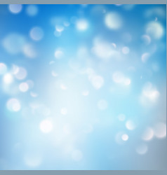 abstract background with bokeh effect shining vector image