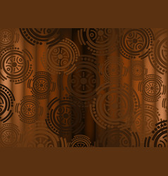 african print fabric ethnic handmade afro design vector image