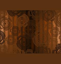 African print fabric ethnic handmade afro design vector