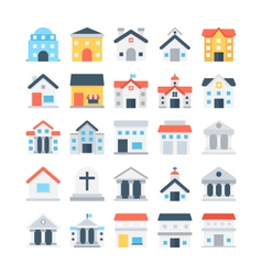 Building Colored Icons 4 vector