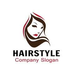 Hairstyle Design vector image
