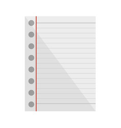 Note sheet blank vector