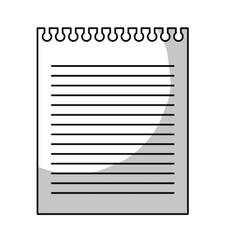 Paper sheet icon image vector