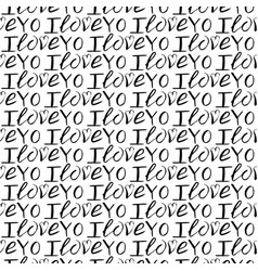 seamless pattern of handlettering for vector image
