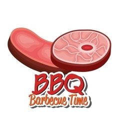 bbq party best meat vector image vector image
