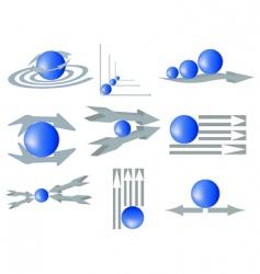 company logotypes vector image vector image