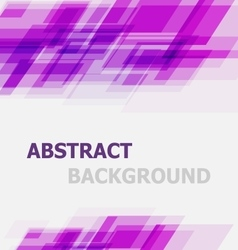 Abstract violet geometric overlapping background vector