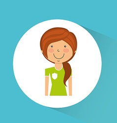 avatar icon vector image