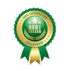 Best seller rosette vector