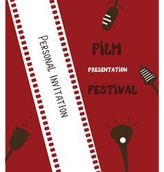 Film festival banner vector image