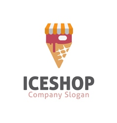 Ice Design Shop vector