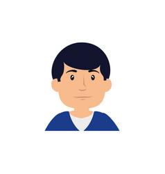 Man cute cartoon vector