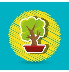 plant office icon design vector image