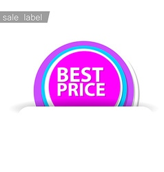 sale sign vector image