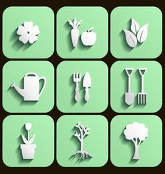 agro button vector image