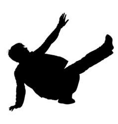 breakdance vector image vector image