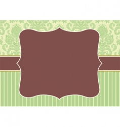 Christmas pattern and border vector image