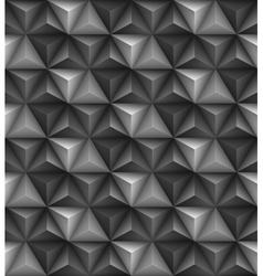Abstract geometric triangle seamless 3D texture vector image