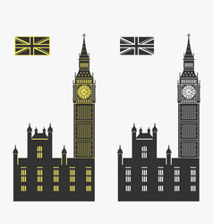 big ben london vector image