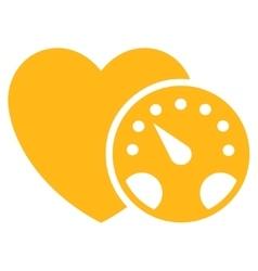 Blood Pressure Meter Icon vector
