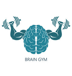 Brain gym vector
