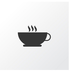 coffee icon symbol premium quality isolated vector image