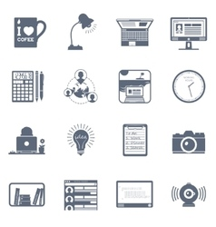 Freelance icon set vector