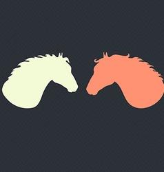 HorseHead5 vector image