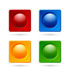 Icon or button backgrounds vector image