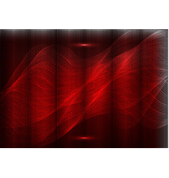 Many fine lines on a red background vector