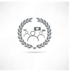 Think icon vector