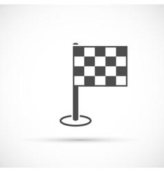 Finish flag icon vector image