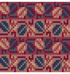 Seamless geometric pattern in the boho style vector image vector image
